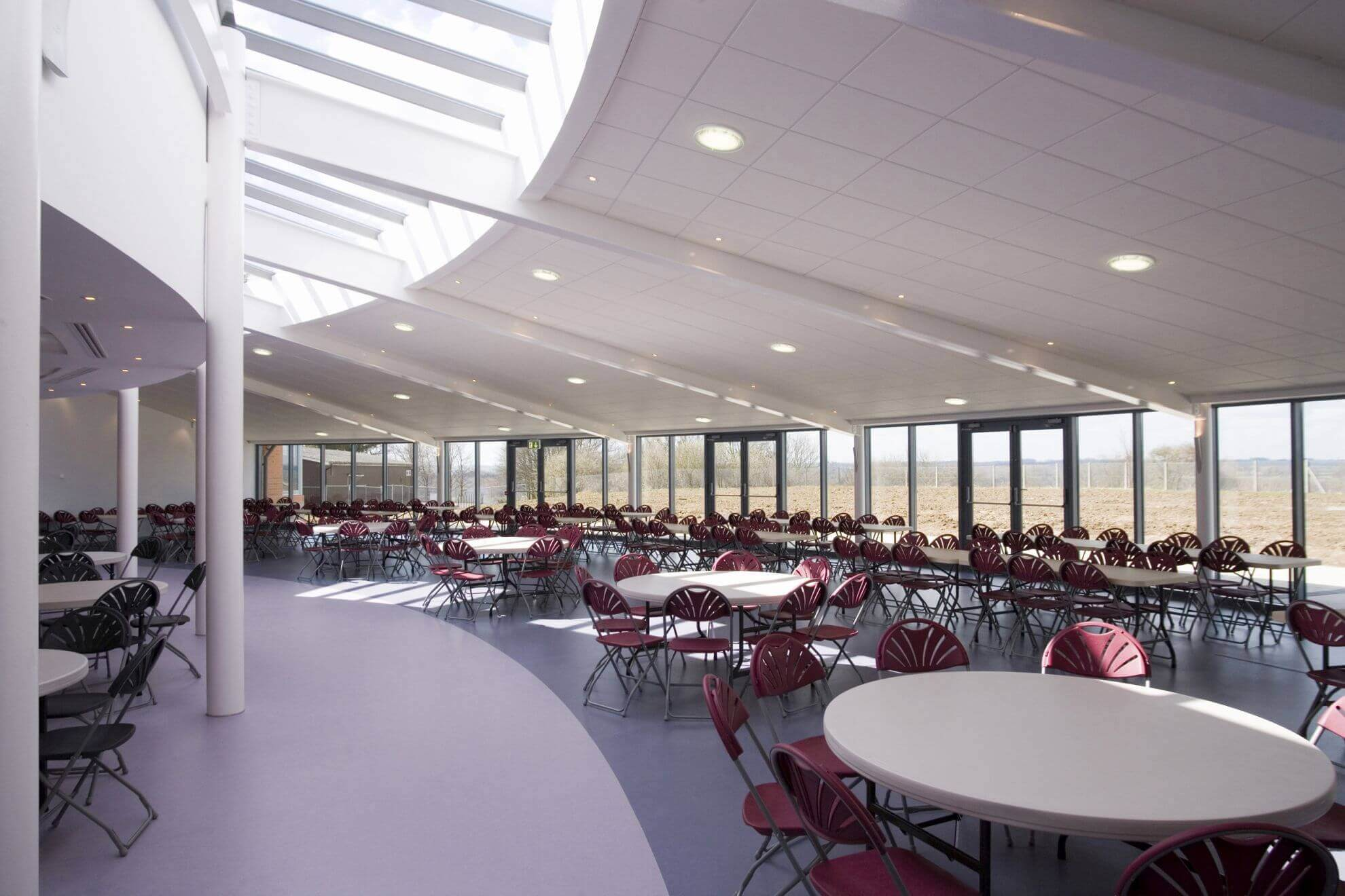 A Bedford Modern School Hall Interior 2