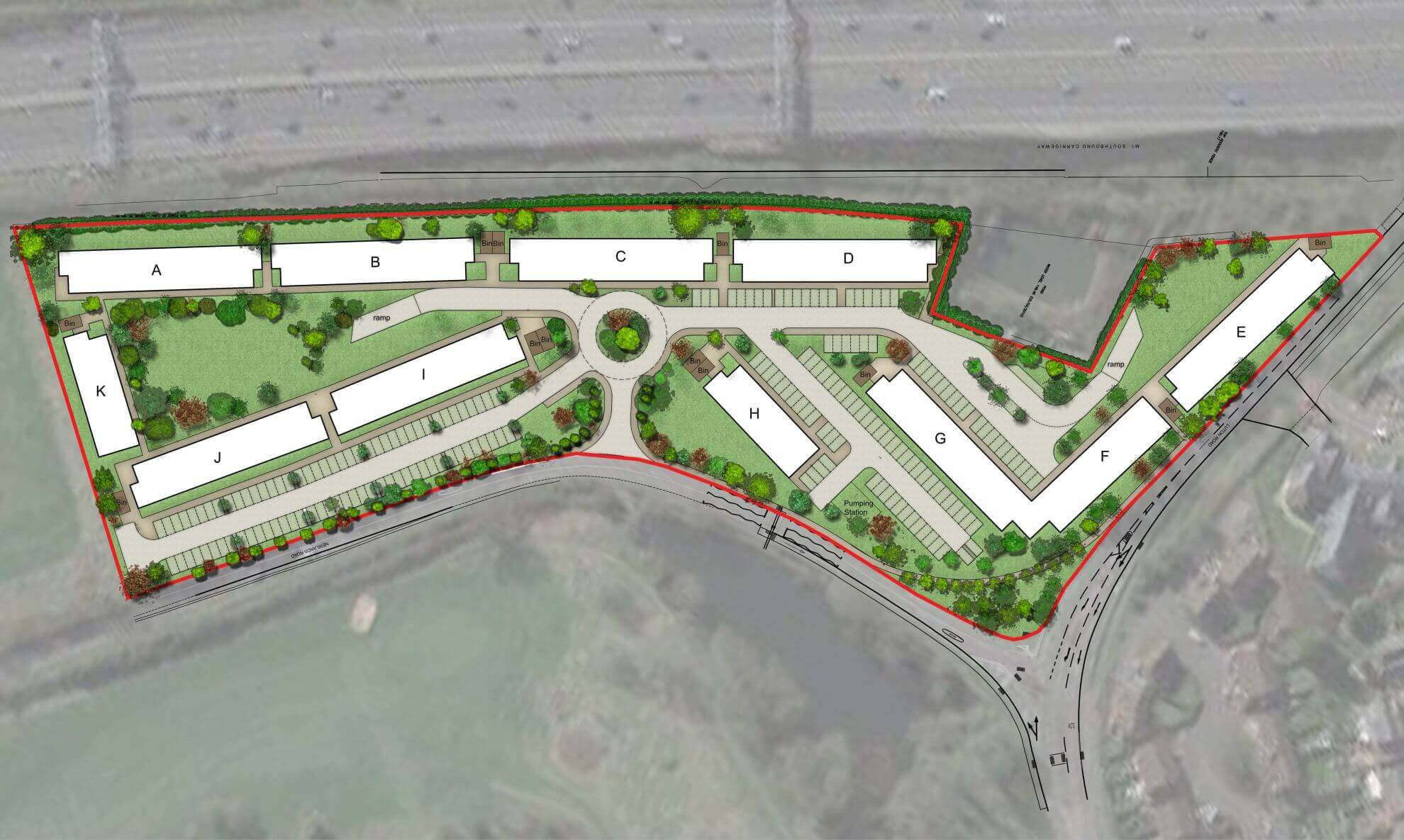 M+A_Newlands_Site plan